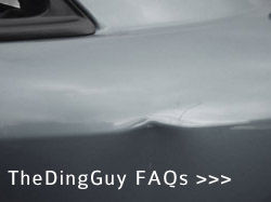 The Ding Guy Frequently Asked Questions