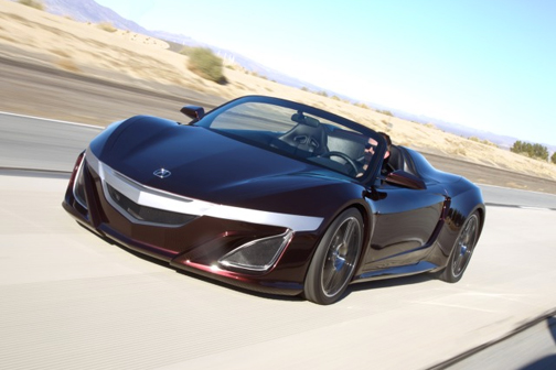 Cars Featured In 2012 Movies: Acura NSX Roadster From The Avengers